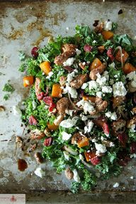 Kale Salad with Roas