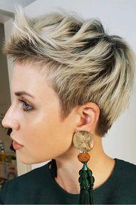 Short Shag Pixie #shortshaghaircuts #shorthaircuts #haircuts #shaghaircuts #pixiehaircut
