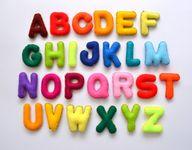 Felt Magnet Alphabet