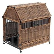 Pet crate with a gab