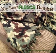 No-Sew Fleece Blanke