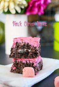 Pink Oreo Bars on kl
