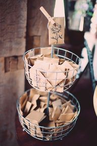 seed packet favors /
