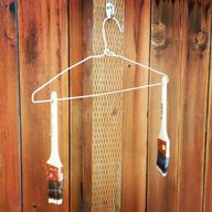 Hang drying brushes