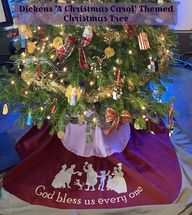 Dickens 'A Christmas Carol' Themed Christmas Tree - lovemycottage
