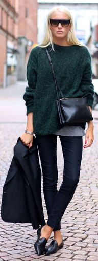 Acne Dark Green Plus...