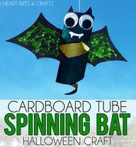 Cardboard Tube Spinn
