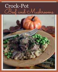 Crock-Pot Beef and M
