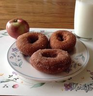 Apple Cider Cinnamon Sugar Donuts ~the strong taste of apple really shines through in these donuts. The buttermilk is key.