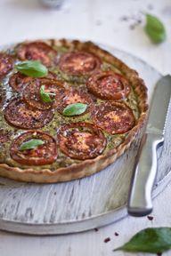 Tomato Tart with Bas