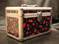 Cherry train case