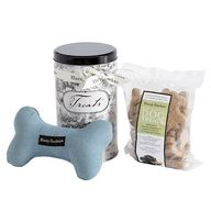 Toile Dog Gift Bag a
