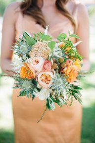 Garden rose bridal b