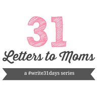 #31Days-- 31 Letters