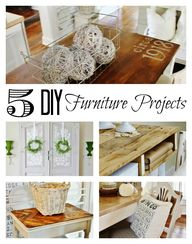 Five DIY furniture p