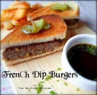 French Dip Burger an