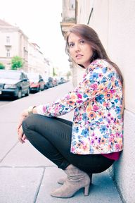#Flower #Blazer from