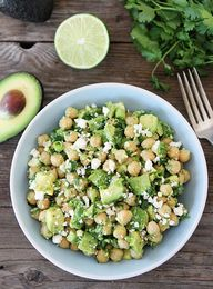 {Chickpea, avocado a