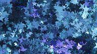paillettes, étoiles, bleus Wallpaper