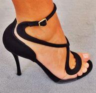 cute high heels shoe