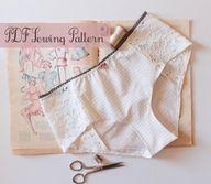 Lingerie Panties Sew