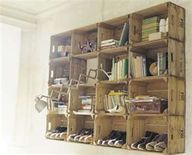 DIY Wall storage usi