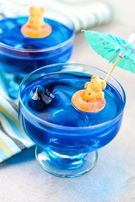 Shark Week Swimming With Sharks Jello Cups!