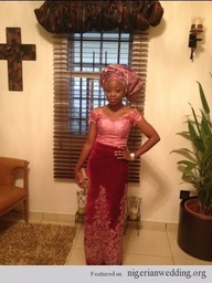 Nigerian wedding vel