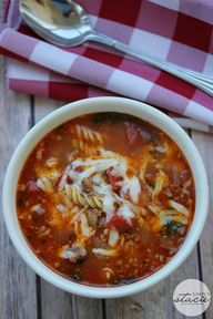 Lasagna Soup - If yo