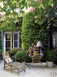 Lovely patio ~ Love