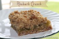Rhubarb Crunch Recip