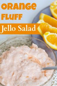 Orange Fluff Jello S