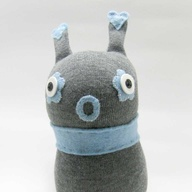 Sock Creature - Blue