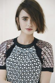 Lily Collins for Mar
