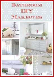 DIY bathroom renovat