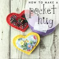 How to make a felt pocket hug