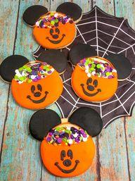 DIY Mickey Pumpkin Cookies!