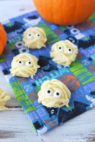 Mummy White Chocolate Truffles