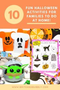 10 Fun Halloween Activities For Families To Do At Home!