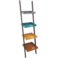 4 tiers shelf ladder