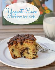 Yogurt Cake for Kids