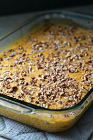 Louisiana Bride: Breakfast Pumpkin Custard