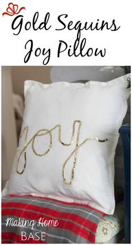 DIY Sequins Christma