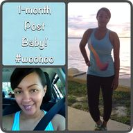 1-month post baby! H