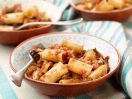 Rigatoni with Vegetable Bolognese Recipe | Giada De Laurentiis | Food Network