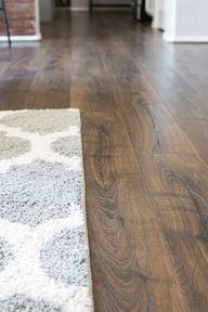 Beautiful Vintage Tobacco Oak Flooring - a gorgeous laminate flooring from Pergo that weve installed in our whole downstairs.