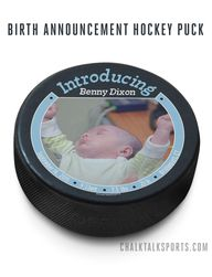 Custom Hockey Puck.