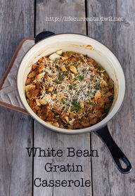 White Bean Gratin Ca