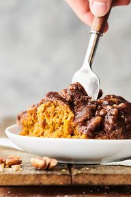 Crockpot Sweet Potato Casserole Recipe