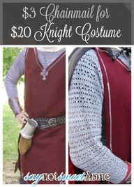 DIY Knight Costume f